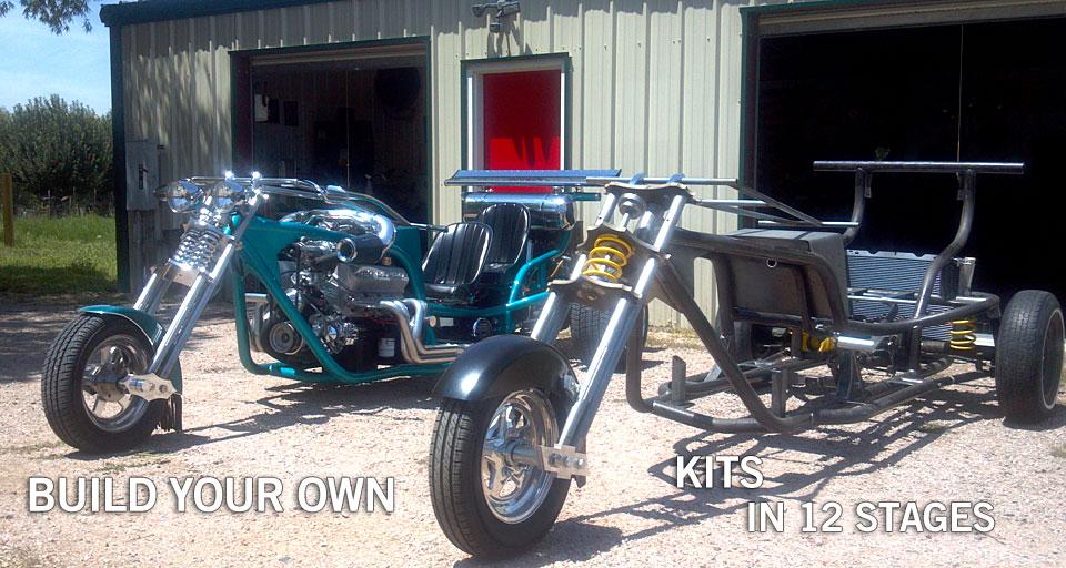 V8 Trike Kits