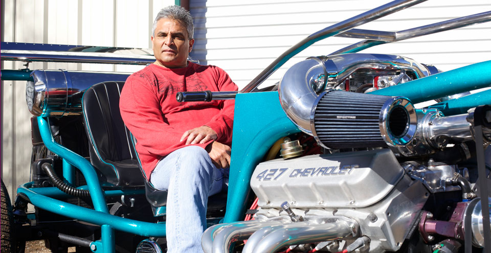 Build A Ford >> V8 Trike Kits: The Man