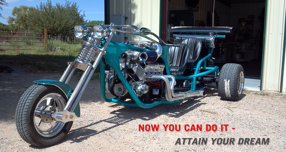 V8 trike build your own v8 trike dreams v8 trike kits solutioingenieria Image collections